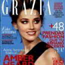 Amber Heard - Grazia Magazine Cover [Spain] (26 February 2014)