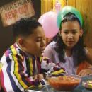 Naya Rivera and Tahj Mowry