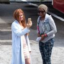 Isla Fisher On The Set Of Keeping Up With The Joneses In Atlanta