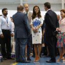 Prince Windsor and Kate Middleton : Visit Luton