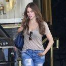 Sofia Vergara Shopping In Beverly Hills