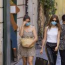 Laetitia Casta with doughter Sahteene Sednaoui – Shopping candids in Rome