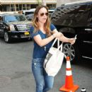 Olivia Wilde In Jeans Out In New York