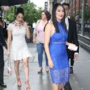 Nikki And Brie Bella Arrives – Seen at The Chew In New York - 454 x 621