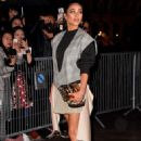 Shay Mitchell – Arrives at Louis Vuitton Fashion Show in Paris