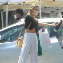 Greer Grammer – Seen at local Farmer's Market in West Hollywood