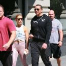 Jennifer Lopez and Alex Rodriguez – Arrives at a gym in NY