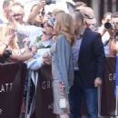 Jessica Chastain Leaves hotel Martinez in Cannes - 454 x 659