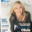 Olivia Newton-John - SAGA Magazine Cover [United Kingdom] (April 2012)