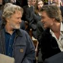Kris Kristofferson as Pop and Kurt Russell as Ben Crane in 2005 Dreamer: Inspired by a True Story, distributed by Dreamworks
