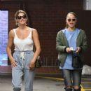 Ashley Greene and Cara Santana at a nail salon in Beverly Hills - 454 x 681