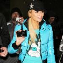 Paris Hilton Out At Night In Park City In Utah, January 23 2010