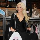 Holly Madison celerating her new lifestyle collaboration with UFC in Las Vegas, 14-02-11