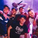 Neymar enjoyed a white party as he closed the book on 2018 on Monday night