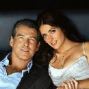 Salma Hayek and Pierce Brosnan