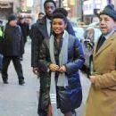 Yara Shahidi – Arrives at 'Good Morning America' in NYC - 454 x 683