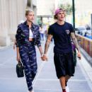Hailey Baldwin and Justin Bieber – Leaving Nobu restaurant in New York