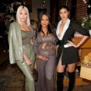 Christina Milian – Intimate baby shower held in Westwood - 454 x 598