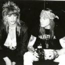 Michael Monroe and Axl Rose photos