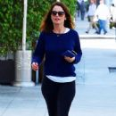 Robin Tunney in Tights out in Beverly Hills