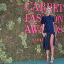 Lady Victoria Hervey – Green Carpet Fashion Awards 2018 in Milan - 454 x 303