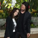 Winona Ryder and Keanu Reeves – 'Destination Wedding' Photocall in Beverly Hills - 454 x 547