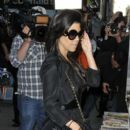 Kourtney Kardashian heads out to a newsstand to pick up some magazines and snacks before heading back to her hotel 10/5/2011
