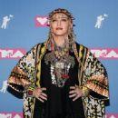 Madonna - 2018 MTV Video Music Awards - Press Room - 449 x 600