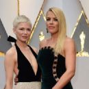 Michelle Williams and Busy Phillips At the 89th Annual Academy Awards - Arrivals (2017) - 454 x 325