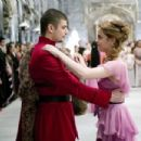 "STANISLAV IANEVSKI as Viktor Krum and EMMA WATSON as Hermione Granger in Warner Bros. Pictures' fantasy ""Harry Potter and the Goblet of Fire."" Photo: Murray Close"