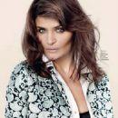 Helena Christensen - Elle Magazine Pictorial [Ukraine] (December 2013)