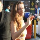 Angela Sarafyan – Signs autographs and greets fans in Hollywood - 454 x 594