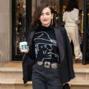 Camilla Belle – Leaving the Ralph Lauren Show in NYC - 454 x 565