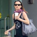 Juliette Lewis in Tights out in Beverly Hills - 454 x 681