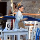 Bar Refaeli on Spetses Island in Attica - 454 x 644