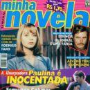 Gabriela Spanic, La usurpadora - Minha Novela Magazine Cover [Brazil] (20 September 1999)