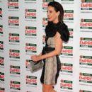 Sarah Harding: attending The Jameson Empire Film Awards in London