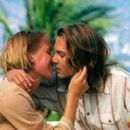 Franka Potente and Johnny Depp