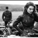 David Beckham and Andreea Diaconu for Belstaff S/S 2014 Campaign