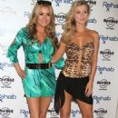 Joanna Krupa and Marta Krupa Rehab Pool Party At Hard Rock Hotel Casino In Las Vegas
