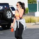 Selena Gomez Out In La 3