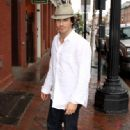 Ian Somerhalder was spotted out in Georgetown on Thursday, April 28.