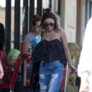 Vanessa Hudgens Out Shopping In Los Angeles