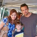 Sean Patrick Flanery and Brigid Brannagh
