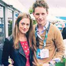 Eddie Redmayne and Hannah Bagshawe - 454 x 590