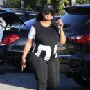 Blac Chyna and Kourtney Kardashian at The Pumpkin Patch in Los Angeles, California - October 14, 2016 - 454 x 643