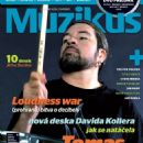 Tomas Haake - Muzikus Magazine Cover [Czech Republic] (April 2011)