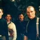 Jake Weber, Jack Noseworthy, Harvey Keitel and Matthew McConaughey in Universal's U-571 - 2000 - 350 x 231