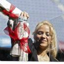 Shakira- Barranquilla's School Project Presentation at Camp Nou