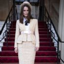 Keira Knightley – Investiture at Buckingham Palace in London